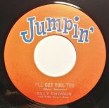 "45Re✦BILLY EMERSON""I'll Get You, Too""✦MAC REBENNACK ""Sahara""✦Mid Tempo & Instro♫"